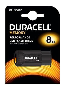 USB kľúč Duracell 8GB USB 2.0 flashdisk
