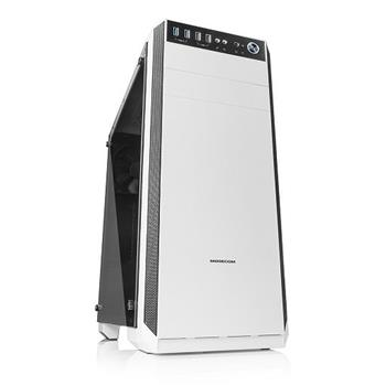 PC Skrinka Modecom Oberon GLASS USB 3.0 White