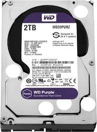 HDD WD Purple interný disk 2TB 3,5
