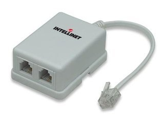 Intellinet ADSL modem splitter adapter