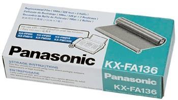 film PANASONIC KX-FA136 KX-F1010/1015, KX-FM131, KX-FP302 (2ks v bal.)
