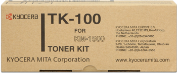 toner KYOCERA TK-100 KM 1500