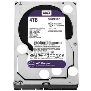 HDD WD Purple interný disk 4TB 3,5
