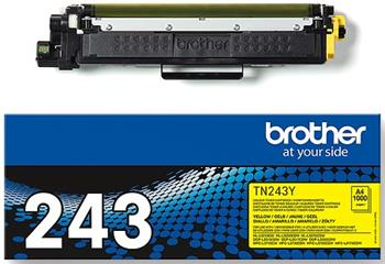 toner BROTHER TN-243 Yellow HL-L3210CW/L3270CDW, DCP-L3510CDW/L3550CDW, MFC-L3730CDN/L3770CDW