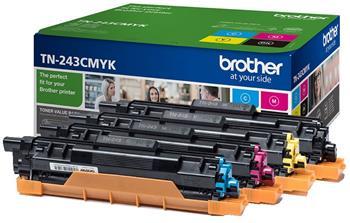 toner BROTHER TN-243 K/C/M/Y kit HL-L3210CW/L3270CDW, DCP-L3510CDW/L3550CDW, MFC-L3730CDN/L3770CDW