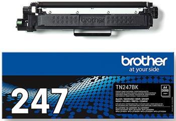 toner BROTHER TN-247 Black HL-L3210CW/L3270CDW, DCP-L3510CDW/L3550CDW, MFC-L3730CDN/L3770CDW