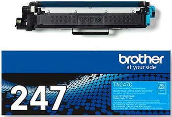 toner BROTHER TN-247 Cyan HL-L3210CW/L3270CDW, DCP-L3510CDW/L3550CDW, MFC-L3730CDN/L3770CDW