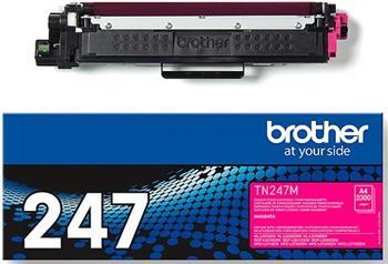toner BROTHER TN-247 Magenta HL-L3210CW/L3270CDW, DCP-L3510CDW/L3550CDW, MFC-L3730CDN/L3770CDW