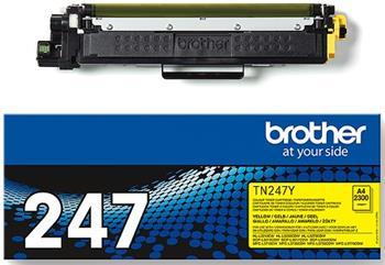 toner BROTHER TN-247 Yellow HL-L3210CW/L3270CDW, DCP-L3510CDW/L3550CDW, MFC-L3730CDN/L3770CDW