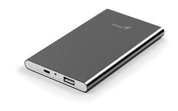 Power Bank GENIUS ECO-u540/ 5.400 mAH/ Apple design/ hliníkový/šedý