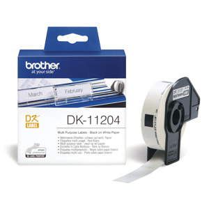 rolka BROTHER DK11204 Multi Purpose Labels (400 ks)