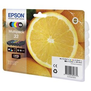 multipack EPSON XP-530,XP-630,XP-635,XP-830 33