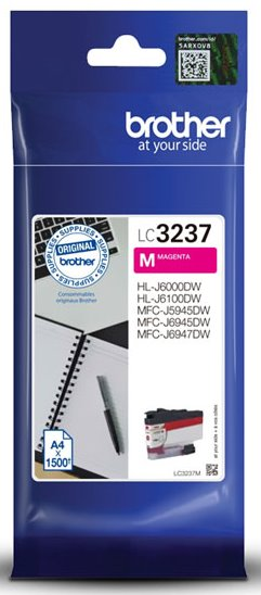 kazeta BROTHER LC-3237 Magenta MFC-J5945DW/MFC-J6945DW/MFC-J6947DW
