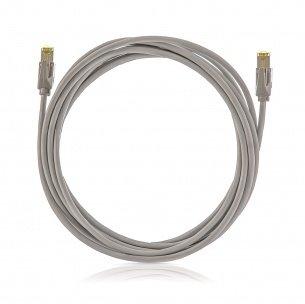 K-Cat.6A, 10Giga Patch kábel STP, 10.0m, LSOH, KELINE