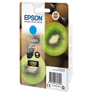 kazeta EPSON XP-6000 202 Cyan (300 str)