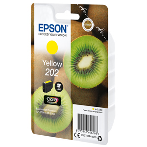 kazeta EPSON XP-6000 202 Yellow (300 str)