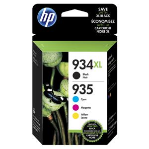 KAZETA HP X4E14AE 4-pack No.934XL+935XL čierna, azúrová, purpurová, žltá