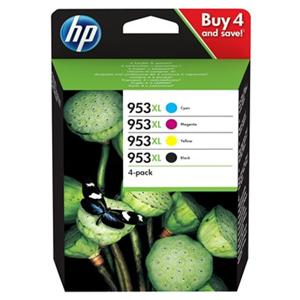 KAZETA HP 3HZ52AE 4-pack No.953XL čierna, azúrová, purpurová, žltá