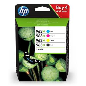 KAZETA HP 3YP35AE 4-pack No.963XL čierna, azúrová, purpurová, žltá
