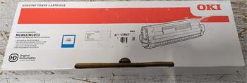 toner OKI MC853/MC873 cyan (7.300 str.) - poškodená krabica