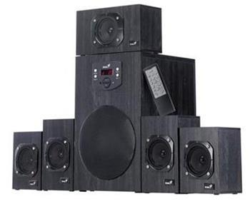 Reproduktory Genius SW-HF 5.1 4500 Ver. II 125W drevené čierne