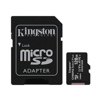Pamäťová karta Kingston Canvas Select Plus microSDXC 128GB Class 10 UHS-I 100/10 MB/s (+ adaptér)