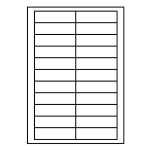 etikety RAYFILM 90x25,4 univerz�lne biele (perfor�cia) R0100BD01F