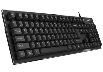 Klávesnica Genius KB-102 USB CZ+SK black