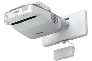 projektor EPSON EB-680Wi,3LCD,WXGA,3200ANSI,14000:1,USB,HDMI,LAN,MHL,ultra short