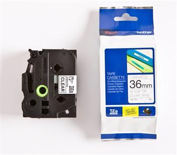 páska BROTHER TZ161 čierne písmo, transparentná páskaTape (36mm)