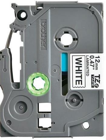 páska BROTHER TZ231 čierne písmo, biela páska Tape (12mm) CIV