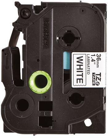 páska BROTHER TZ261 čierne písmo, biela páska Tape (36mm) CIV