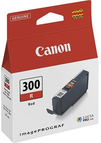 kazeta CANON PFI-300R red iPF PRO-300
