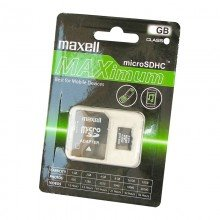 Pamäťová karta MAXELL micro SDXC 64GB Class 10 (+ adaptér)
