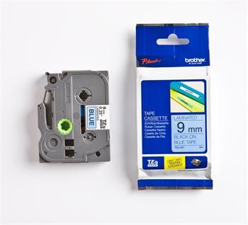 páska BROTHER TZ521 čierne písmo, modrá páska Tape (9mm)