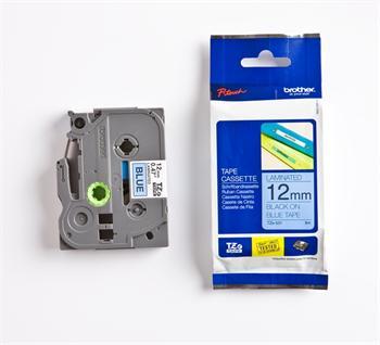 páska BROTHER TZ531 čierne písmo, modrá páska Tape (12mm)