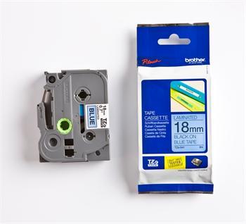 páska BROTHER TZ541 čierne písmo, modrá páska Tape (18mm)