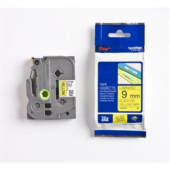 páska BROTHER TZ621 čierne písmo, žltá páska Tape (9mm)