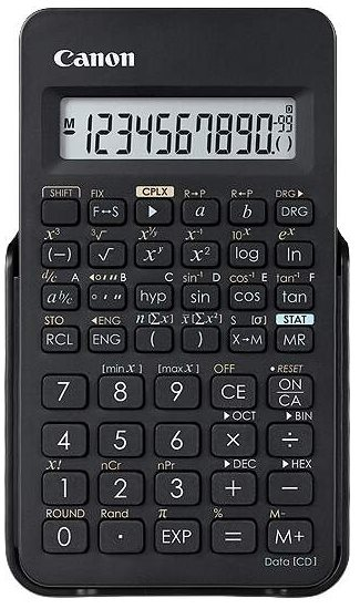 vedecká kalkulačka CANON F-605G, 154 vedeckých a štatistických funkcií