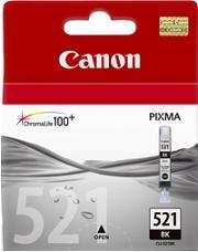 kazeta CANON CLI-521BK black MP 540/620/630/980, iP 3600/4600