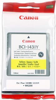 kazeta CANON BCI-1431Y yellow PIGMENT W6200P