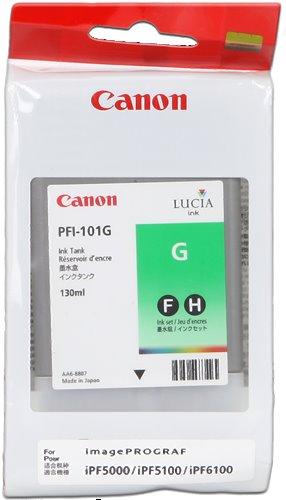 kazeta CANON PFI-101G Green pre iPF 5000/5100/6100