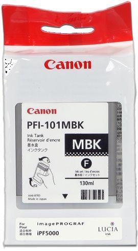 kazeta CANON PFI-101MBK Matte Black pre iPF 5000/6000s