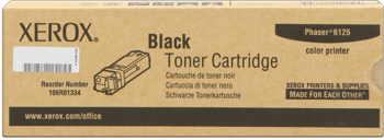 toner XEROX 106R01338 black PHASER 6125