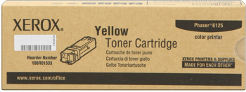 toner XEROX 106R01337 yellow PHASER 6125