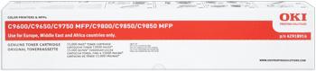 toner OKI C9600/9650/9750/9800/9850MFP magenta