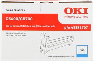 valec OKI C5600/C5700 cyan