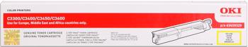 toner OKI C3300/3400/3450n/3600n yellow (2500 str.)