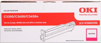 valec OKI C3300/3400/3450n/3600n magenta