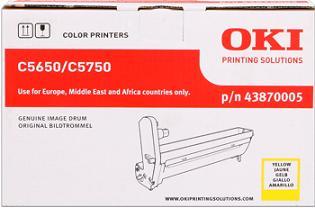valec OKI C5650/C5750 yellow